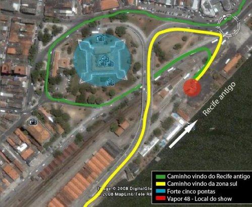 Mapa vapor 48